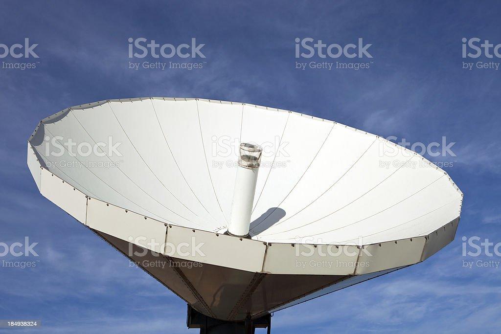 TV Station Satellite Antenna royalty-free stock photo