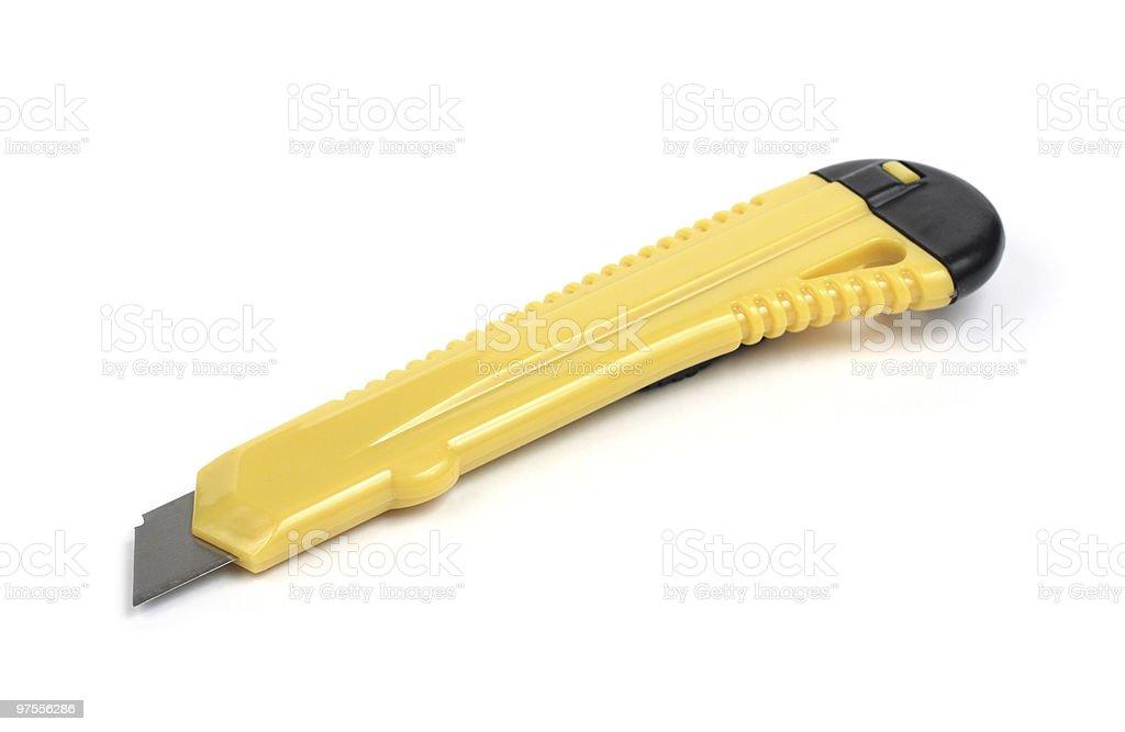 stationery knife royalty-free stock photo