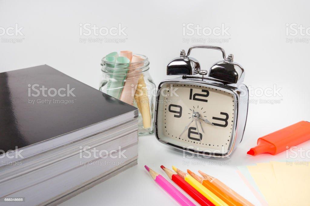 stationery stock photo