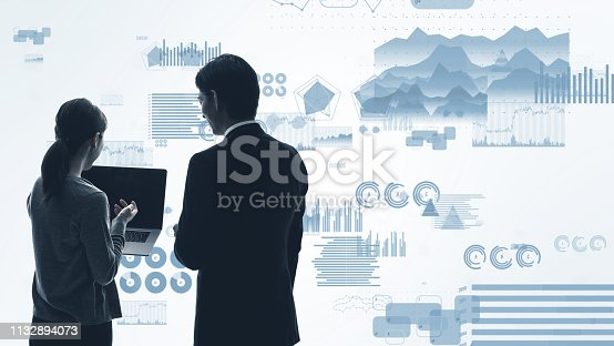 919567592 istock photo Statistics of business concept. Business strategy. 1132894073