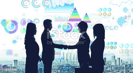 istock Statistics of business concept. Business strategy. 1132912538