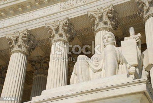 Statue at U.S. Supreme Court