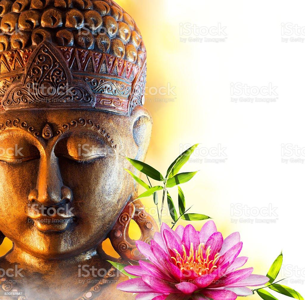 Statue buddha zen stock photo