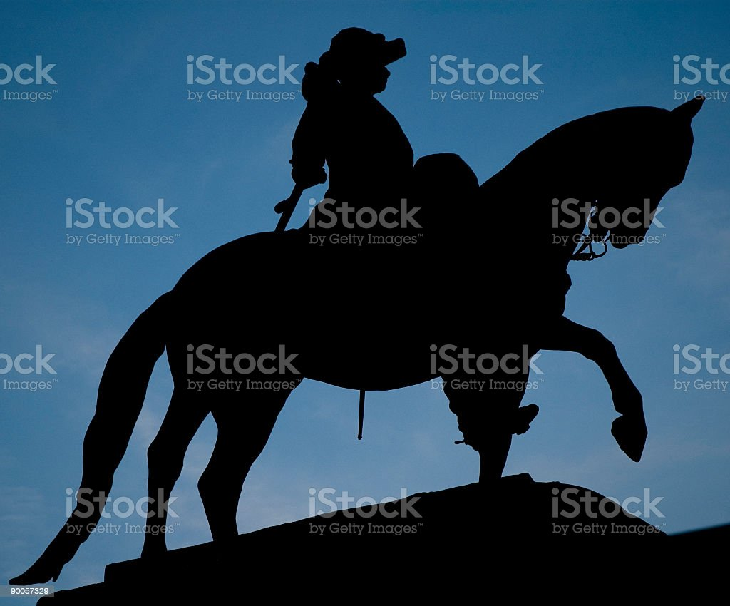 Statue Contour royalty-free stock photo