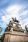 istock Statue Equestre at Piazza Carlo Alberto in Turin, Italy 930227516