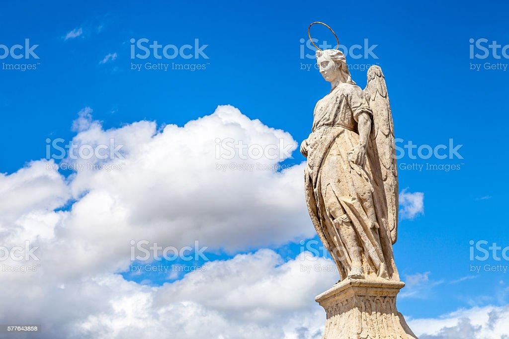 Statue in Cordoba stock photo