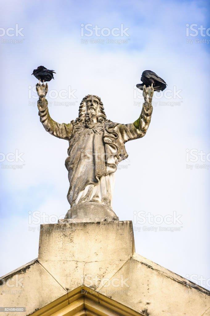 Statue in Panama City, Panama, Central America stock photo