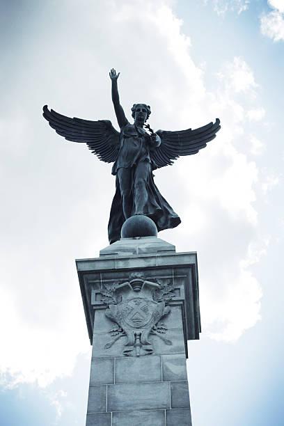 Statue in parc Mont-Royal