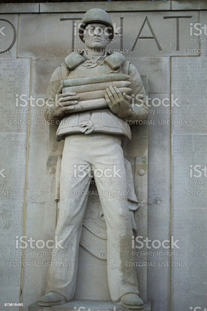 Statue od Soldier stock photo
