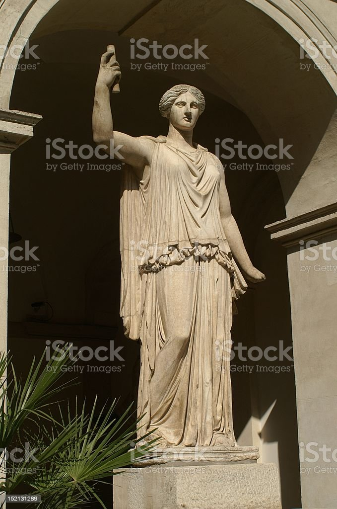 Statue of a Goddess royalty-free stock photo