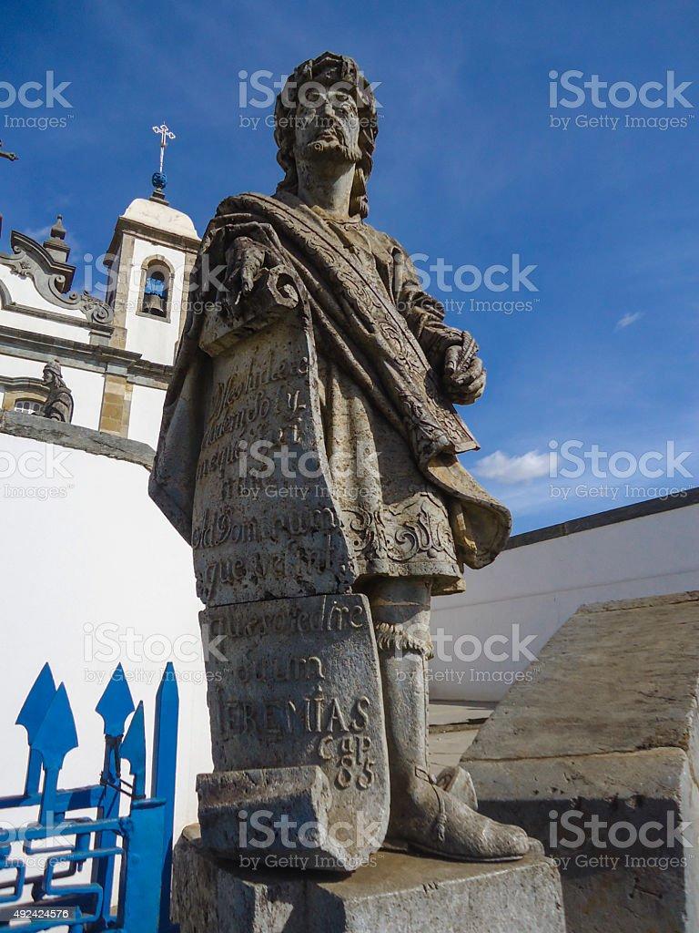 Estátua de Un Prophète - foto de acervo
