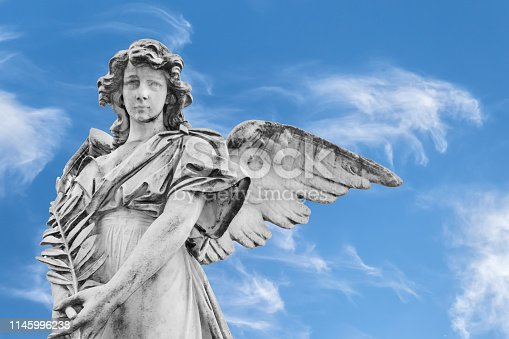 istock Statue of an angel 1145996238