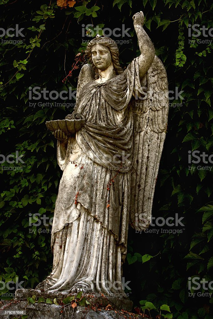 Statue of an Angel royalty-free stock photo