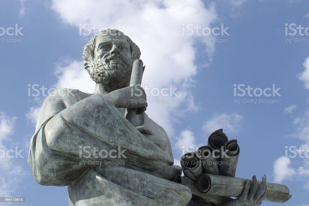 Statue von Aristoteles – Foto