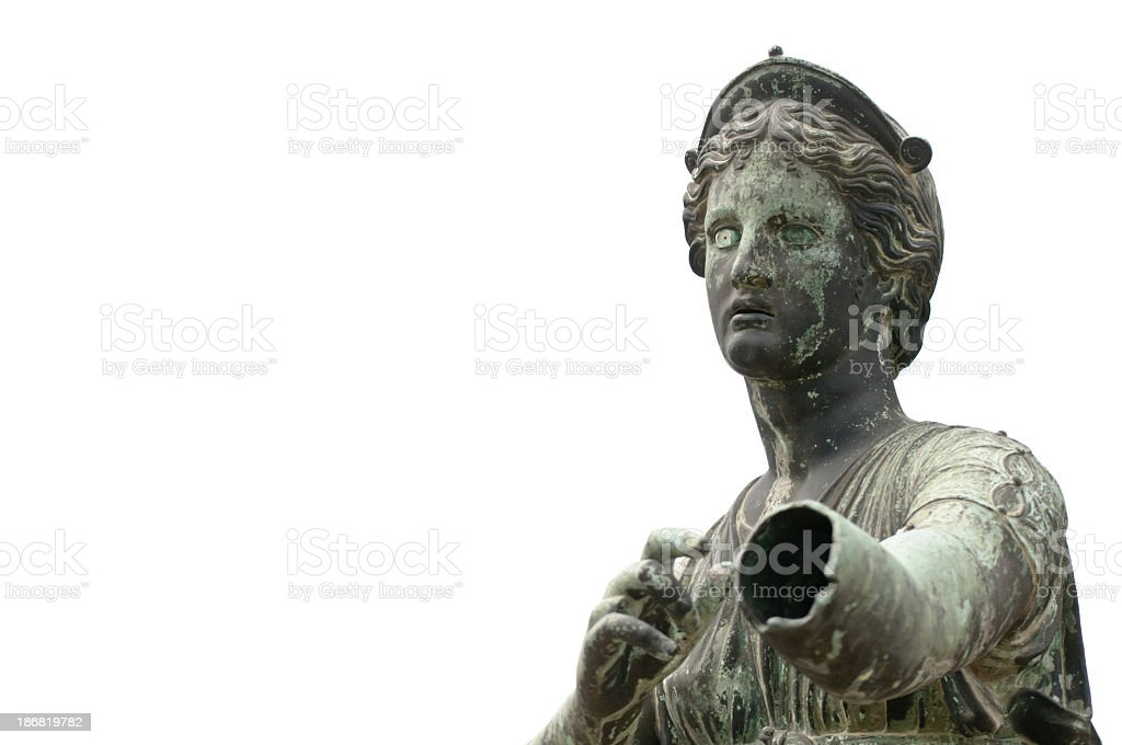 Statue of Artemis royalty-free stock photo