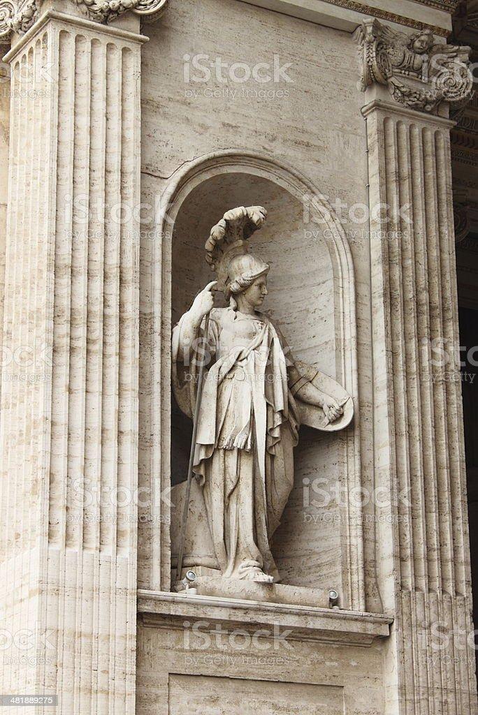 Statue of Athena stock photo