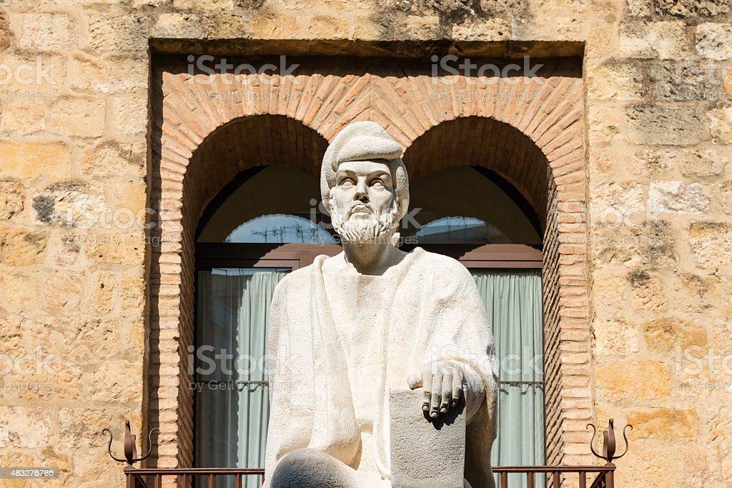 Statue von Averroes in Cordoba – Foto