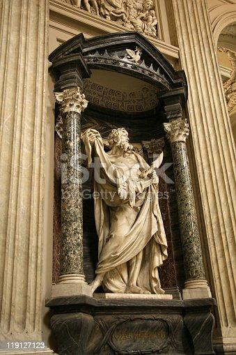 istock Statue of Bartholomew (Nathanael) 119127123