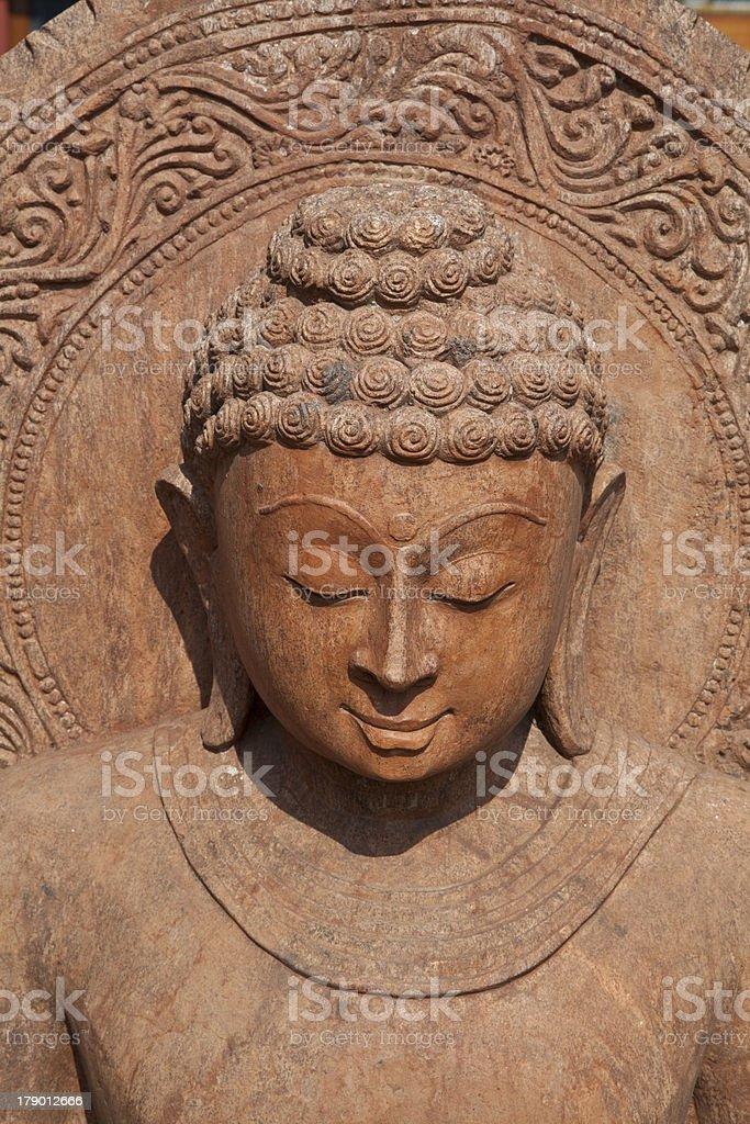 Statue of Budda royalty-free stock photo