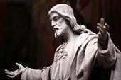 istock Statue of Christ 183937246