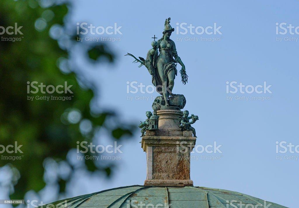 Statue of Diana (Arthemis) in Munich stock photo