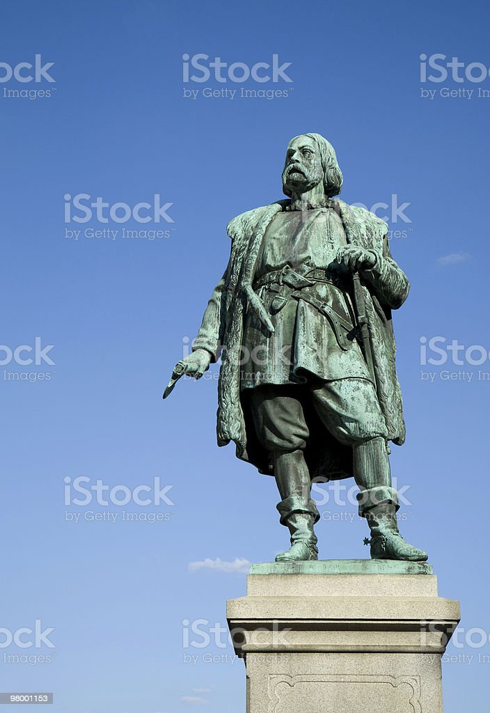 Statue of Engelbrekt royalty-free stock photo