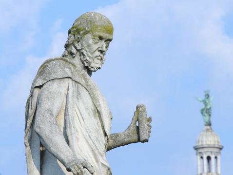 Statue of Galileo Galilei, Prato della Valle, Padua, Italy