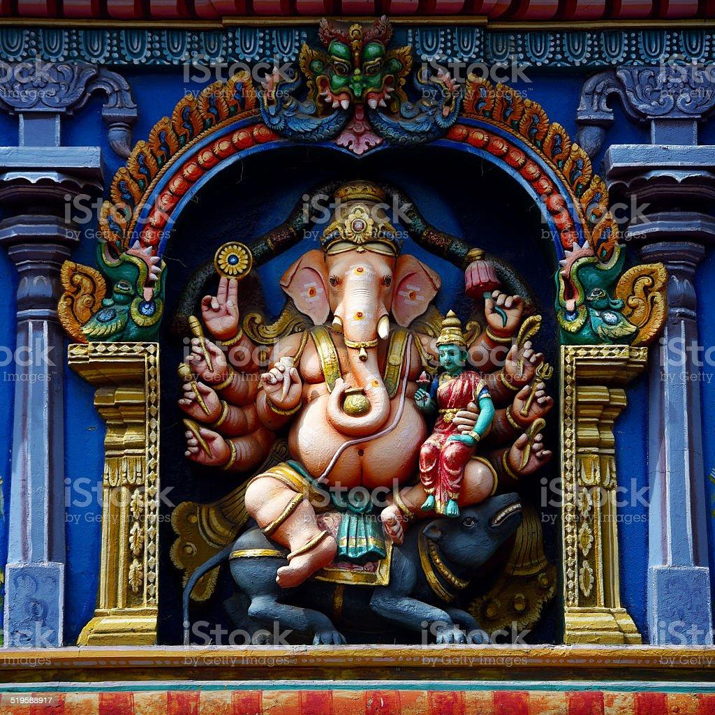 statue of Ganesh stock photo