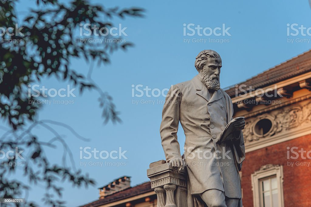 Statue of Giuseppe La Farina