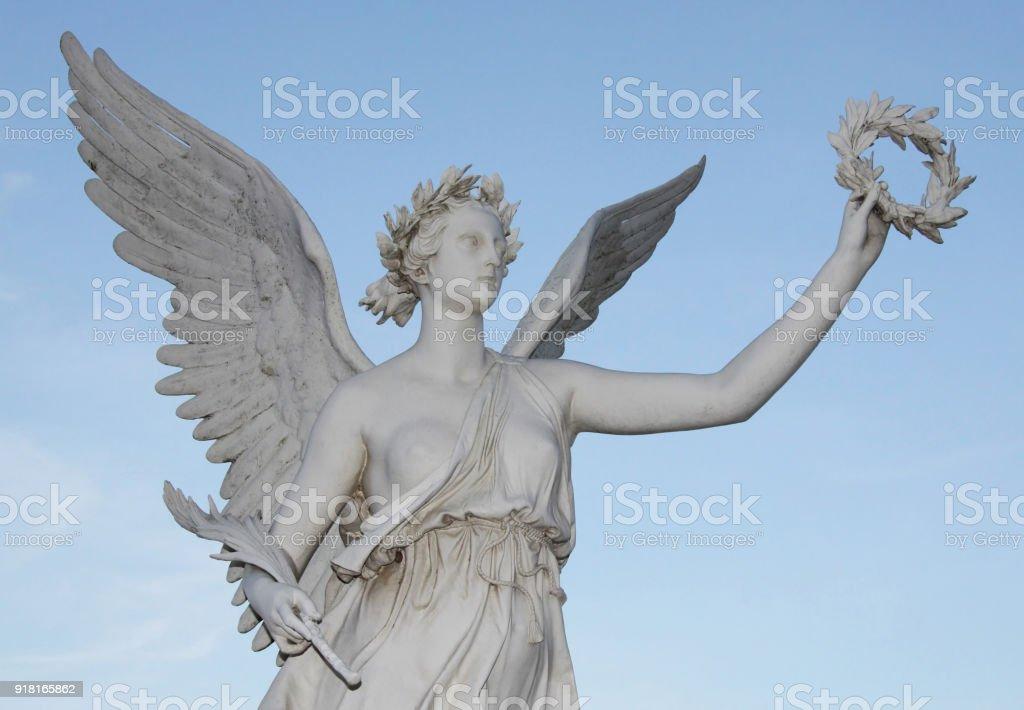 Estátua da deusa Nike 02 - foto de acervo