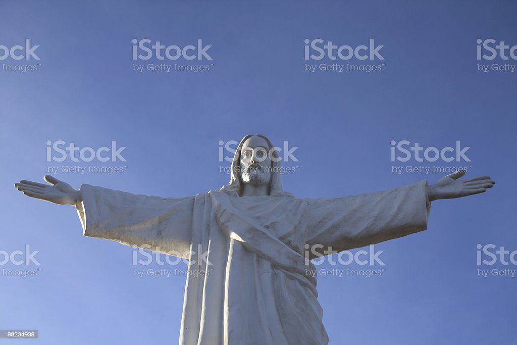 Statue of Jesus royalty-free stock photo