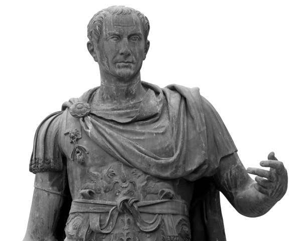 Statue von Julius Cäsar in Rom – Foto