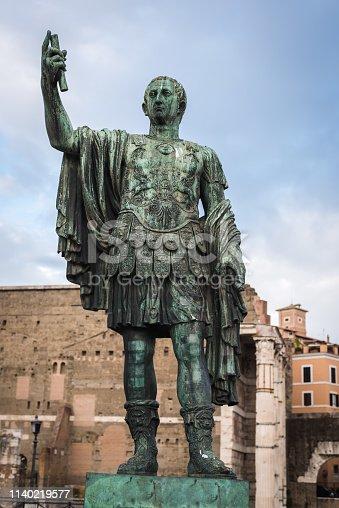 Statue of Julius Caesar / Jules Cesar Emperor of Rome