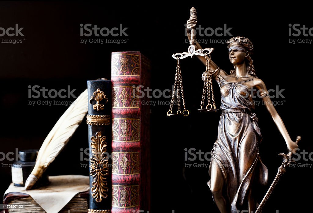 Statue of justice Statue of justice 2015 Stock Photo