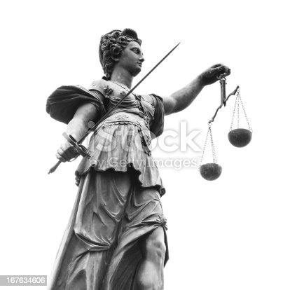 istock Statue of Lady Justice (Justitia) 167634606