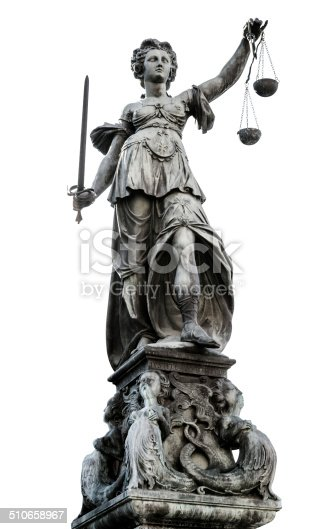 istock Statue of Lady Justice (Justitia) 510658967