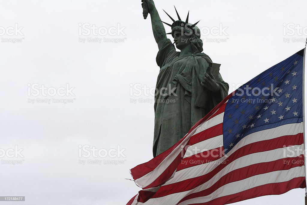 Statue of Liberty 2 royalty-free stock photo