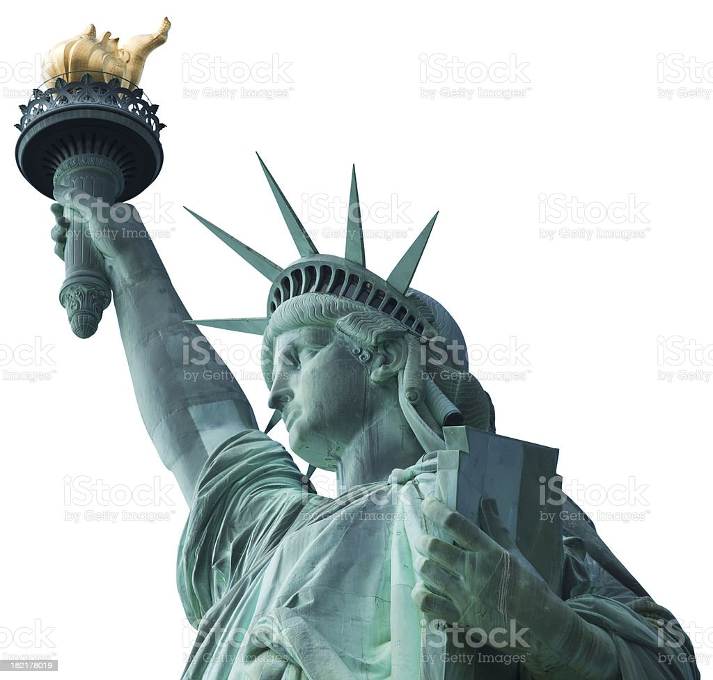 Statue of Liberty in New York royalty-free stock photo