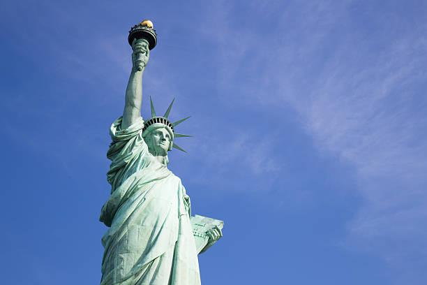 Statue of Liberty, New York City stock photo