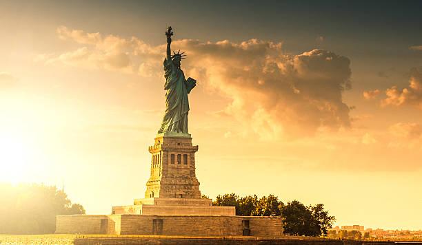 Statue of Liberty - New York City stock photo