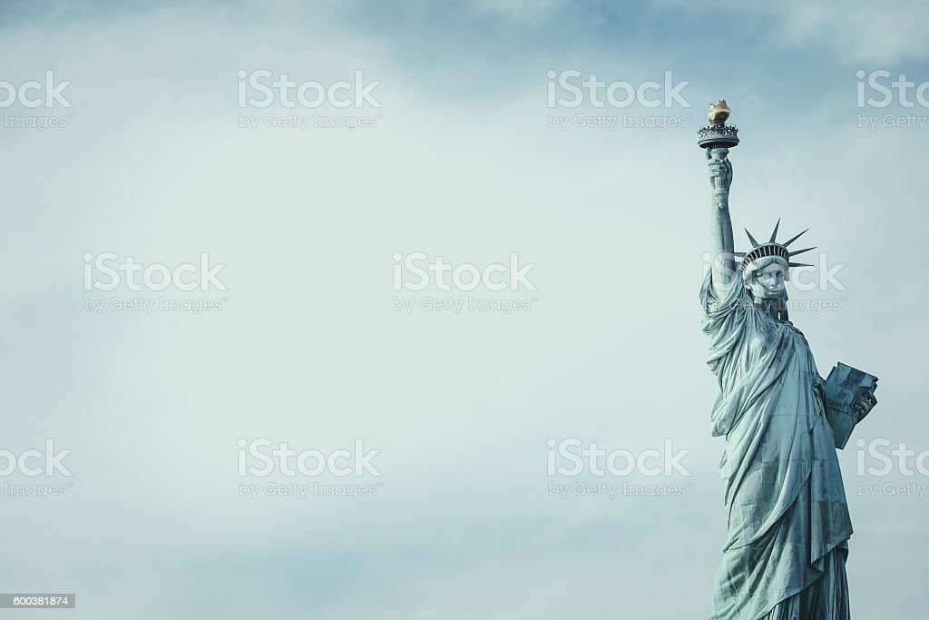 Statue of Liberty, New York stock photo