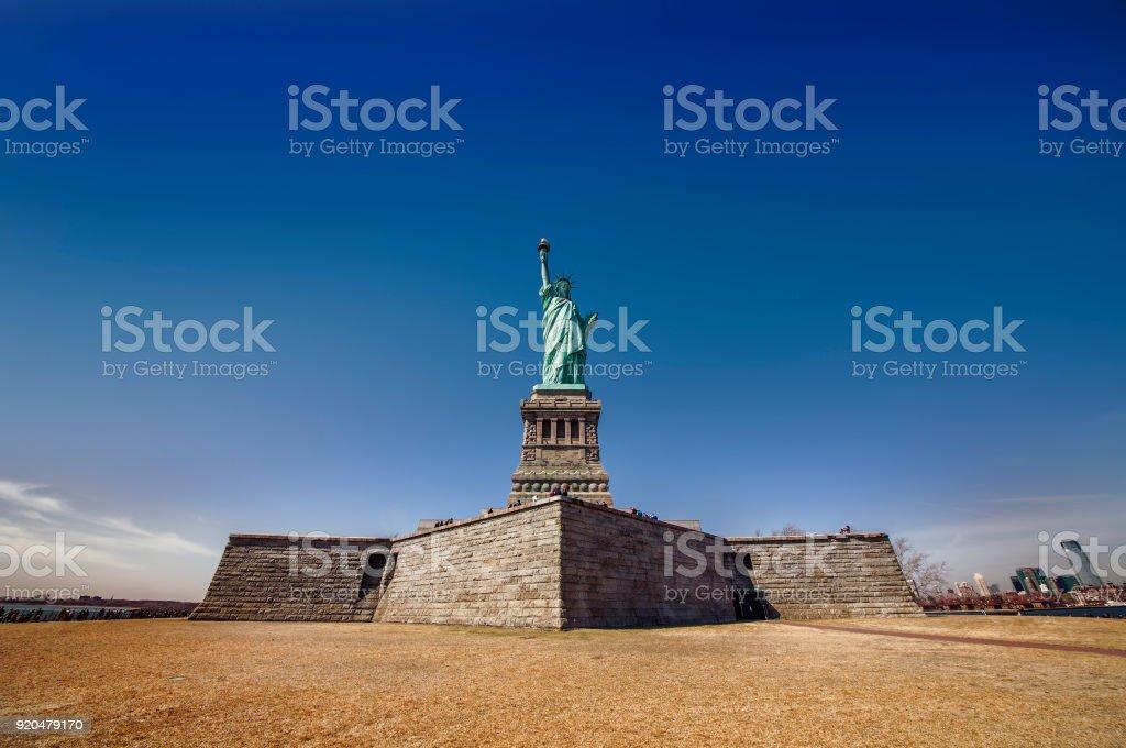 Statue of Liberty, New York stock photo