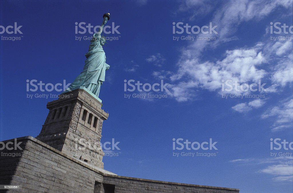 Statue of liberty new york royalty-free stock photo