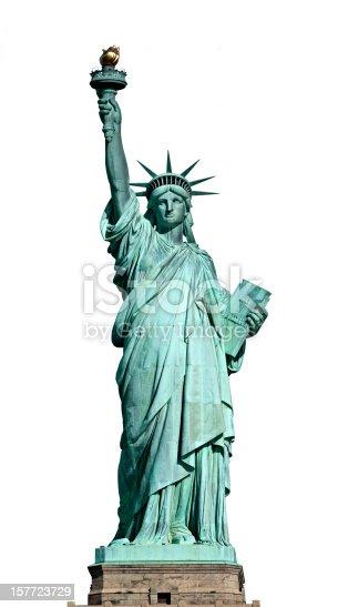 American symbol - Statue of Liberty. New York, USA..