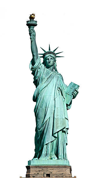 Statue of Liberty. New York, USA. American symbol - Statue of Liberty. New York, USA.. liberty island stock pictures, royalty-free photos & images