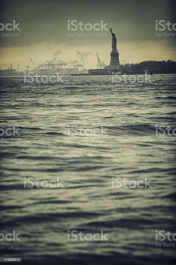 Statue of Liberty, New York, USA royalty-free stock photo