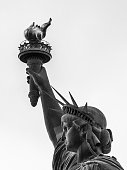Detail of the Statue of Liberty, New York, USA