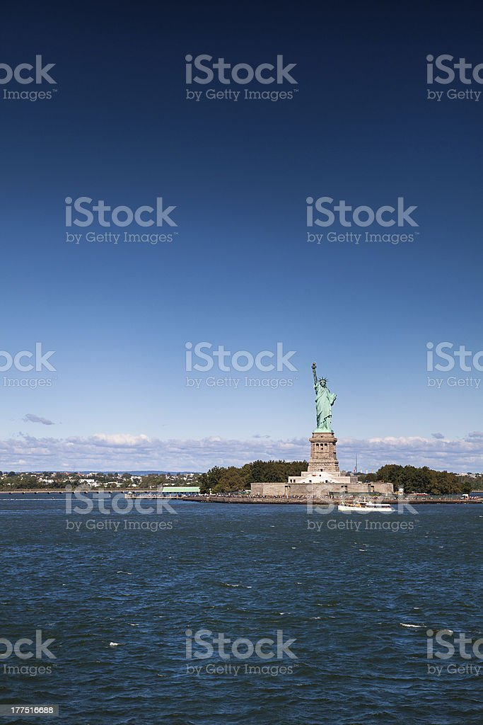 Statue of Liberty, NYC royalty-free stock photo