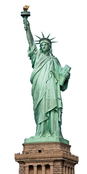 Statue of Liberty NYC stock photo