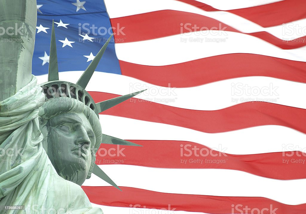 Statue of Liberty royalty-free stock photo